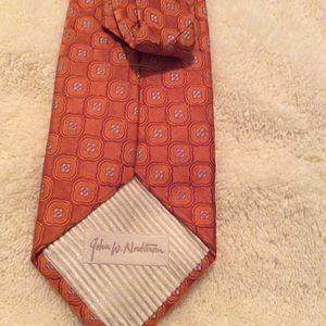 John W Nordstrom Silk Necktie